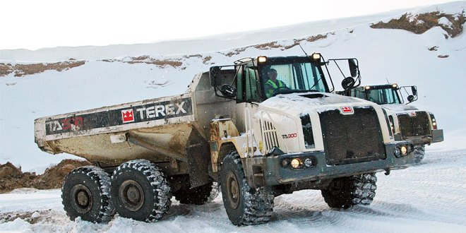Brrrr Terex Trucks extreme weather protection guide