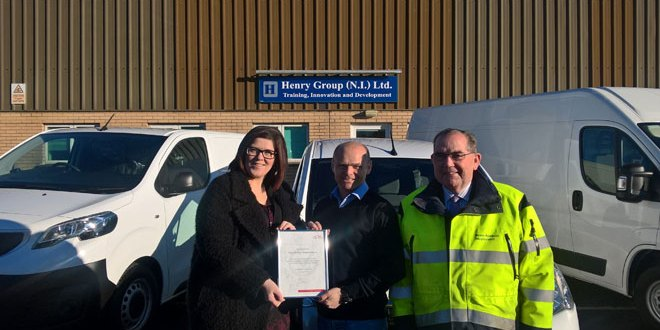 First Northern Ireland operator awarded FTA Van Excellence