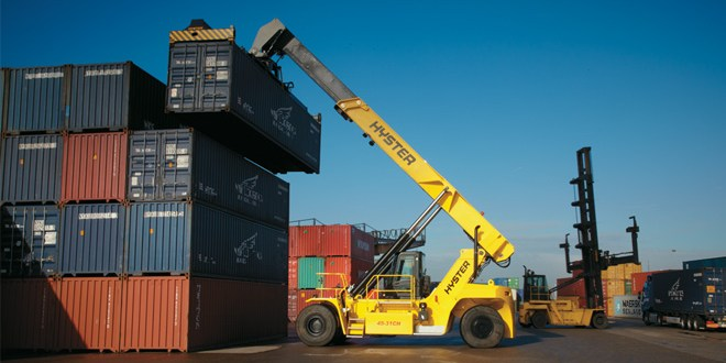 Freightliner chooses Hyster reachstackers in new £3.5m deal with Briggs
