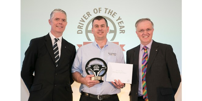 Matthew Pickering named FTA Driver of the Year 2016