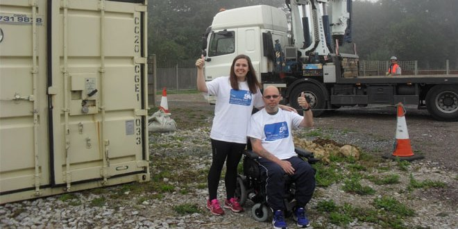 Mobile Mini thinks up plan to help Brain Injury Rehabilitation Trust