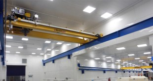 Street Crane installs cranes 1.1km underground in world-leading science facility