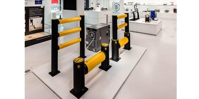 Award winning A-SAFE barrier showcased in Germany