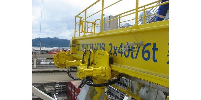 J D Neuhaus versatile crane systems comply with international regulations & standards