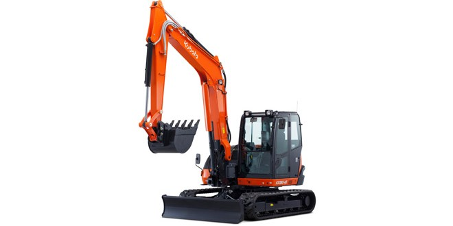Kubota enhances 8 tonne excavator