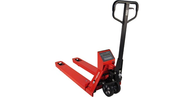 Logitrans launch new weighing scale pallet truck