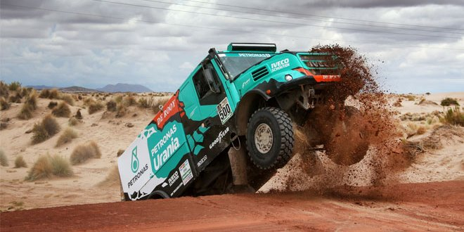 Podium finish for Team De Rooy and Goodyear in Dakar Rally