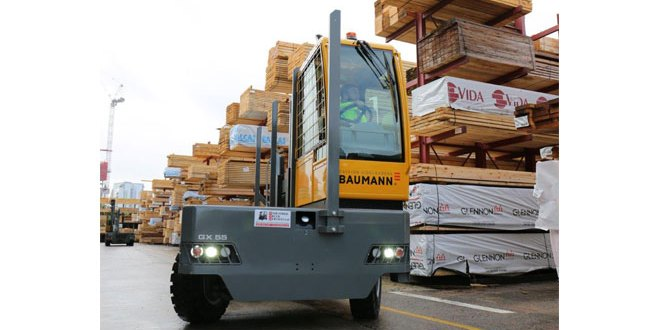 Timber specialist GE Robinson strengthens its sideways force with Baumann