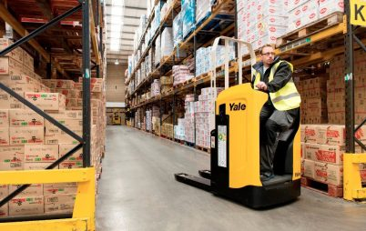 Yale Europe Materials Handling MPT rider pallet truck
