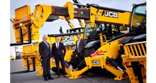 JCB Loadall milestone year starts on a high with massive order