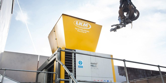 Largest UNTHA four shaft shredder heads to LKM Recycling