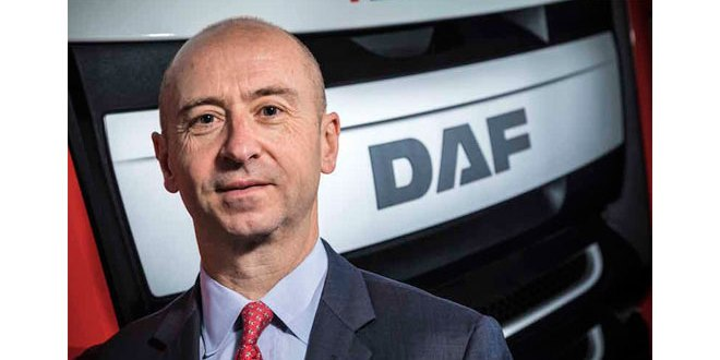 DAF Trucks Ray Ashworth to retire Robin Easton to succeed as MD