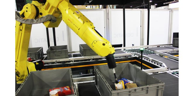 Dematic to highlight Robotic Piece Picking at ProMat 2017