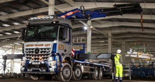 First Mercedes-Benz Arocs delivers miles more smiles for Niall