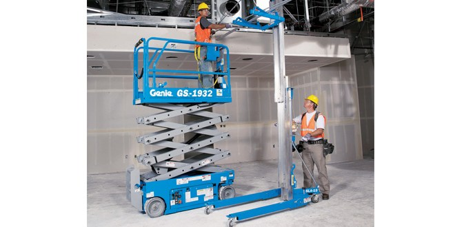 Genie UK distributors stock up with Genie® Personnel and Material Lifts