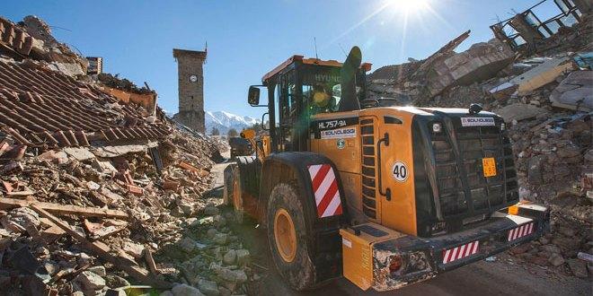 Hyundai Heavy Industries supports rebuilding work in the wake of Italian earthquake