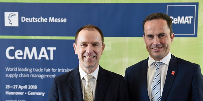 CeMAT 2018 brings integrated logistics to life