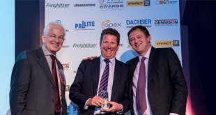 GB RAILFREIGHT JOHN SMITH WINS FTA MULTIMODAL PERSONALITY OF THE YEAR 2017