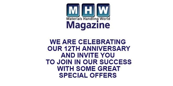 Materials Handling World Magazine celebrates 12th anniversary