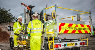 Penny Hydraulics British companies unite to improve highways safety with Amey plc