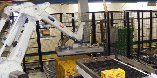 CKF Systems leads the way in the design and build of Central Palletising Systems