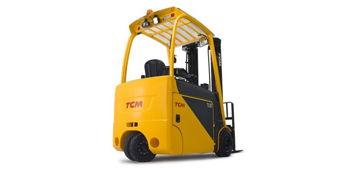 You said, we did. TCM launch its new highly innovative forklift.
