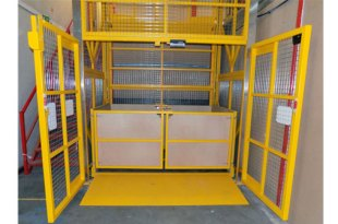 Transdek supplies latest mezzanine lift to Bettys & Taylors
