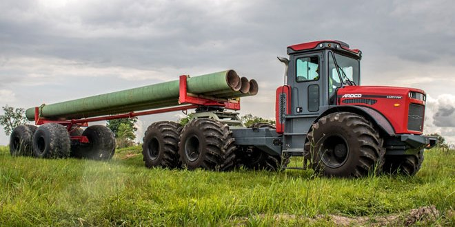 ARDCO introduces Pipe Trailer for its Articulating Multi Purpose Truck