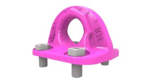 New RUD B-ABA Lifting Point for Bolting Shows Damage & Wear via Wear Marking Indicator