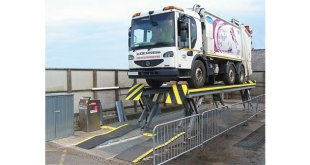 Scarborough Council relies on Stertil Koni Skylift to support vehicle wash bay