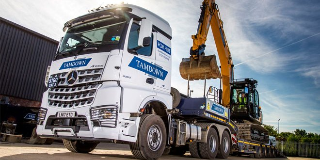 Tamdown goes for the safe option with new Mercedes-Benz Arocs heavy hauler