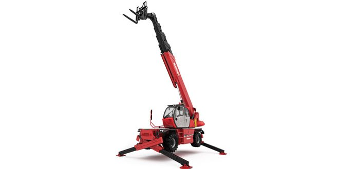 The Manitou group unveils two new models the MRT 3050 and MRT 2470 at a Keynote
