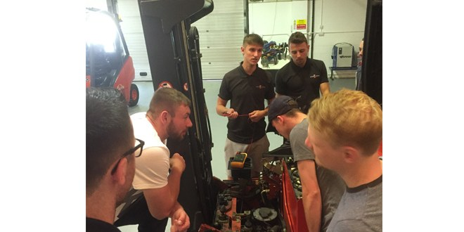 F-TEC confirmed as one-stop shop for forklift apprentices