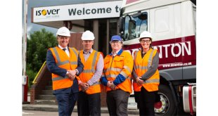 Isover awards 5 year GBP 15 million contract to Downton