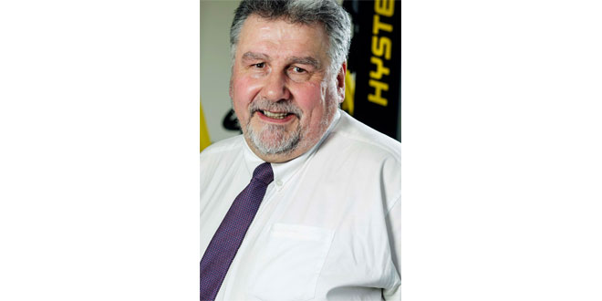 FORTY YEARS OF FORKLIFTS Q and A WITH DAVID ROWELL