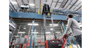 Linde Material Handling launches new driver assistance system for pallet stackers
