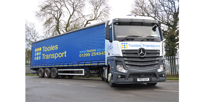 Online software package ensures WTD compliance for Tooles Transport