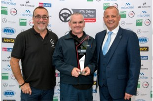 Winner of FTA Van Excellence Driver of the Year 2017 announced