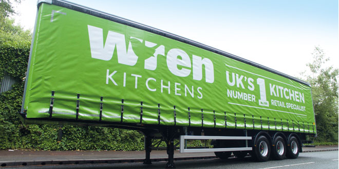NEW CARTWRIGHT CUSTOMER WREN KITCHENS PLACE MAJOR ORDER FOR CURTAINSIDERS AND BOX VANS