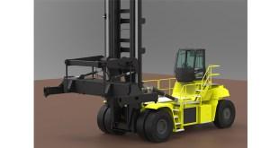 hyster develops 48 tonne forklift truck