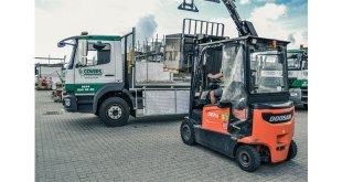 Covers Timber and Builders Merchants looks to the future with Doosan electric trucks