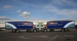 Howard Tenens Operate First Scania 26 Tonne Dedicated Gas Vehicle in the UK