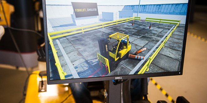 Hyster Simulator – Training and forklift simulation a match made in the warehouse?