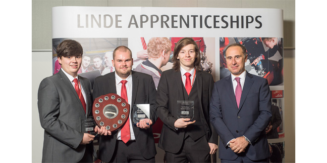 Award success for Linde UK engineering apprentices