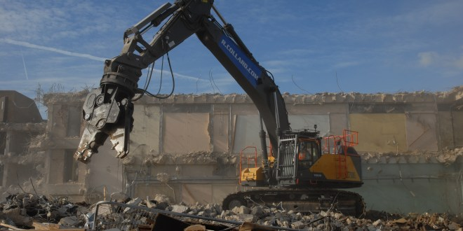 First demolition Volvo EC750E goes to R Collard Ltd