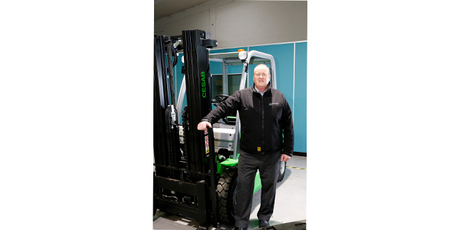 Prins Forklifts joins Cesab Network