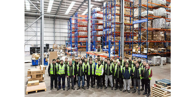 RTITB – Sports supplier's warehouse workers score qualifications success