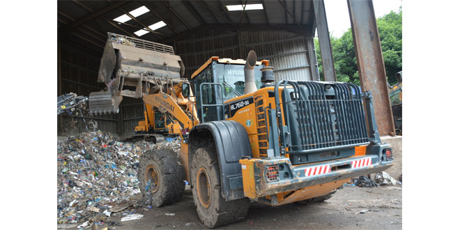 Waste not, want not Mercian Skip Hire choose Hyundai