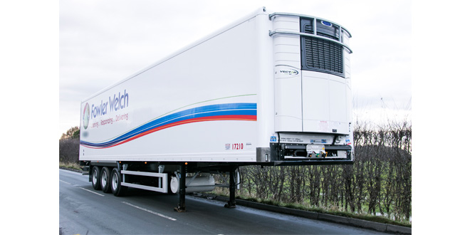 Fowler Welch orders duel temp fridge trailers from Cartwright