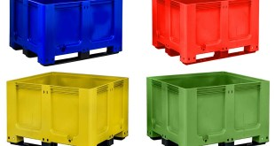 Goplasticpallets.com GoBox 1210 BBCJ rigid pallet box